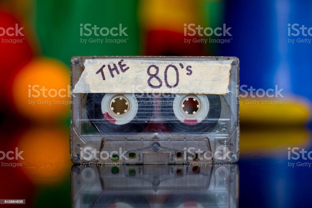 80's Mixed Tape stock photo