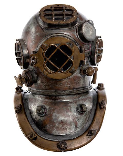 1920's Navy Diving Helmet Mark Five stock photo