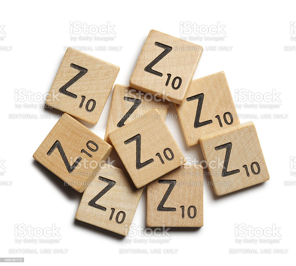 Z's royalty-free stock photo