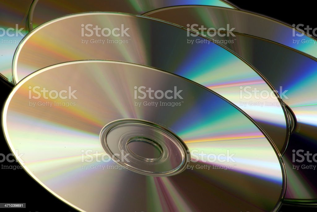CD's stock photo