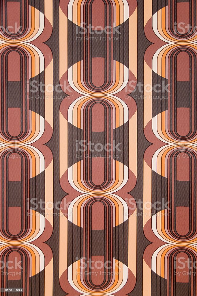 70's Retro Pattern stock photo