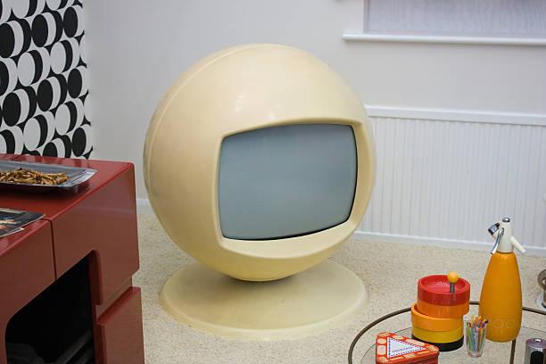 1970s Retro Tv Set Stock Photo & More Pictures of Ashtray