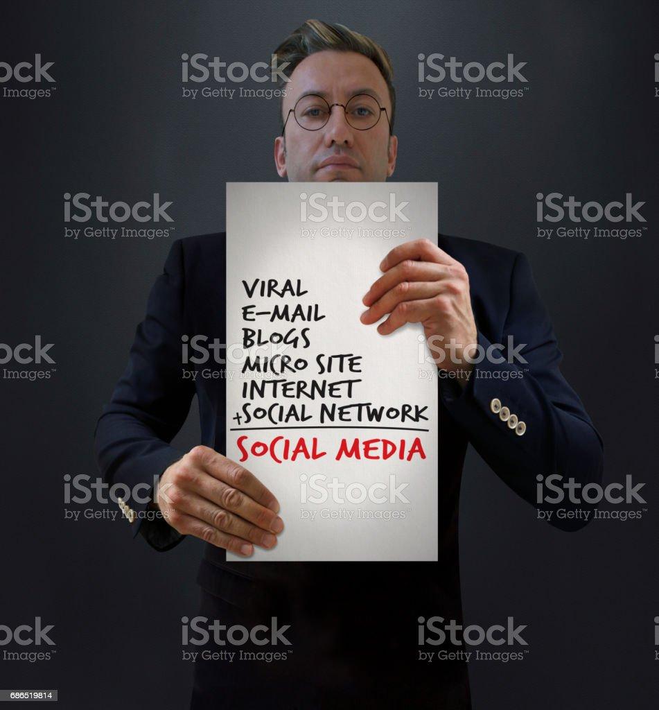 SEO sociale Media formule presentatie royalty free stockfoto