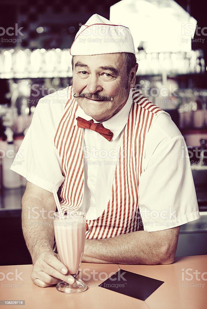1950's Soda Shop royalty-free stock photo
