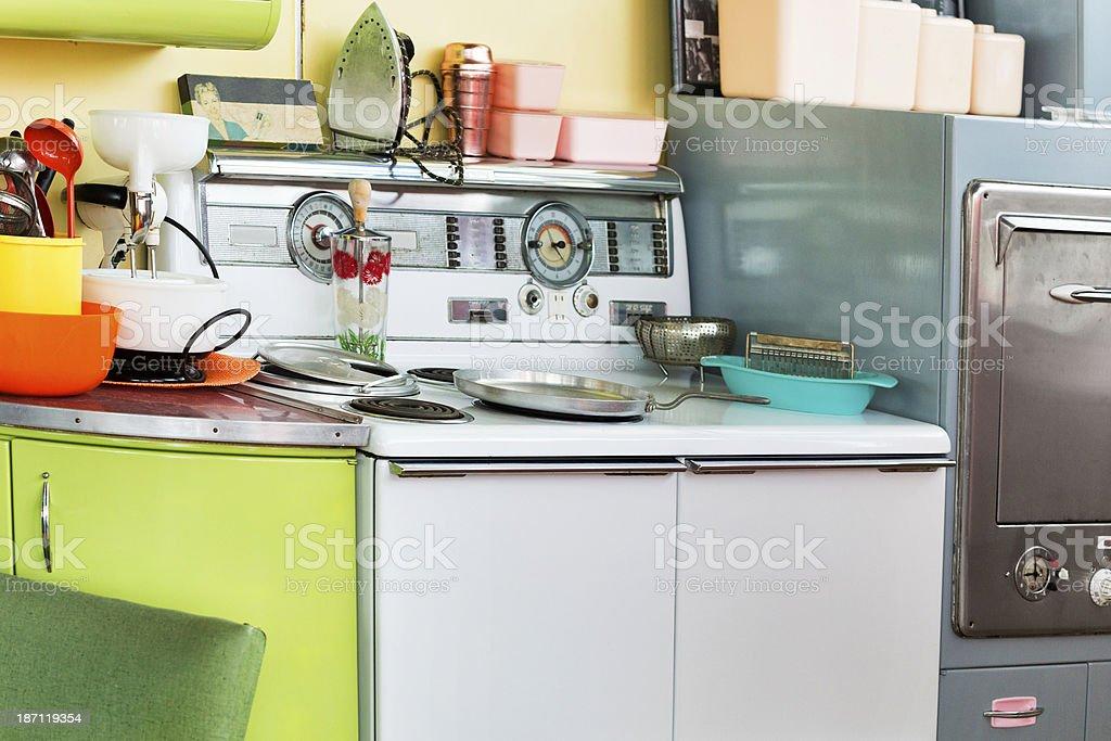 Cucina Stile Anni 50 - Fotografie stock e altre immagini di 1950 ...