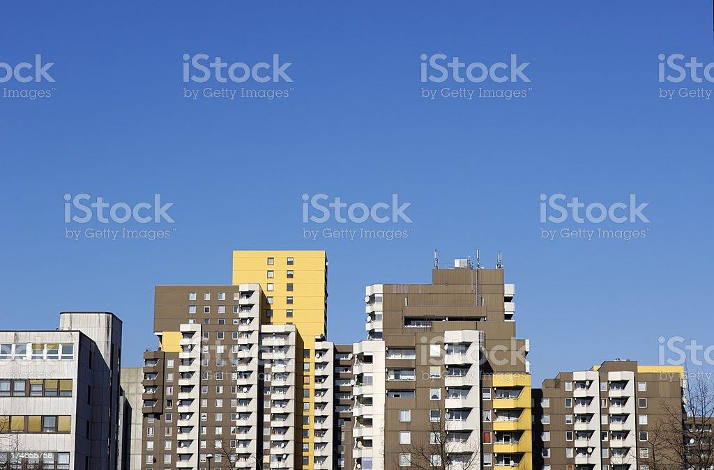 1970 ´ s teilweise finanziert Wohnen/skyline – Foto