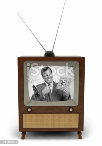 91138159 istock photo 50's TV commercial 91155401