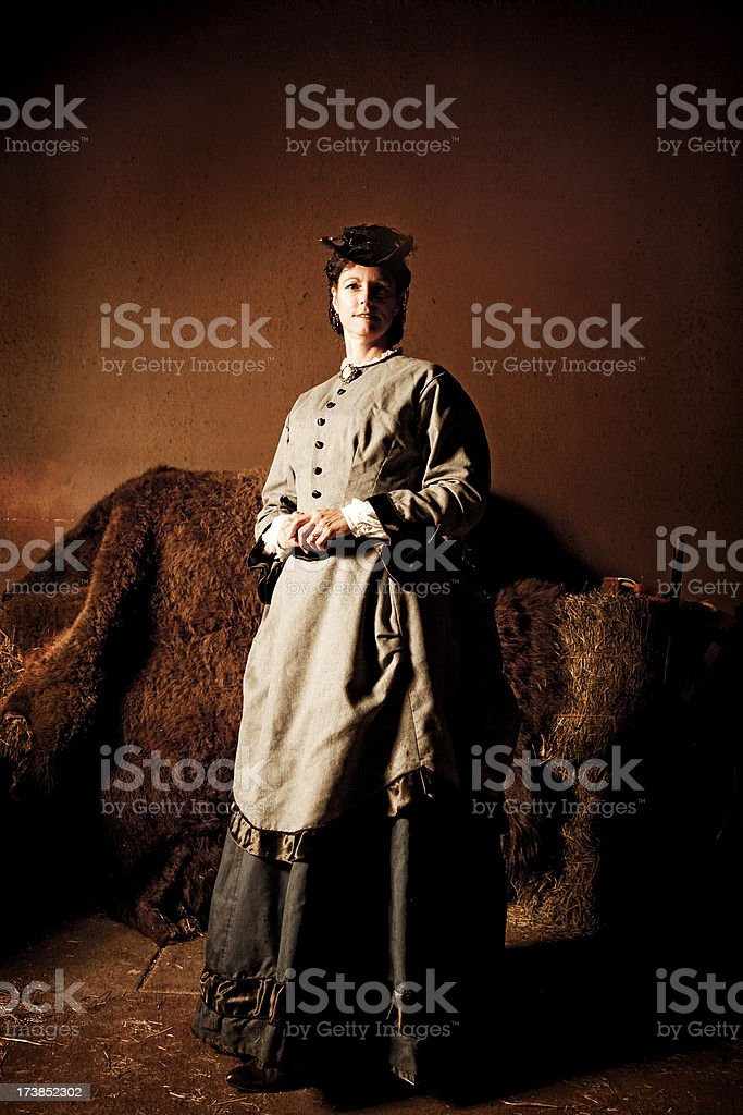 1800's Woman royalty-free stock photo