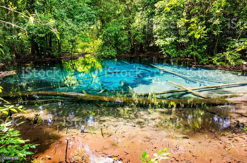 Sa Nam Phut national park at Thailand stock photo