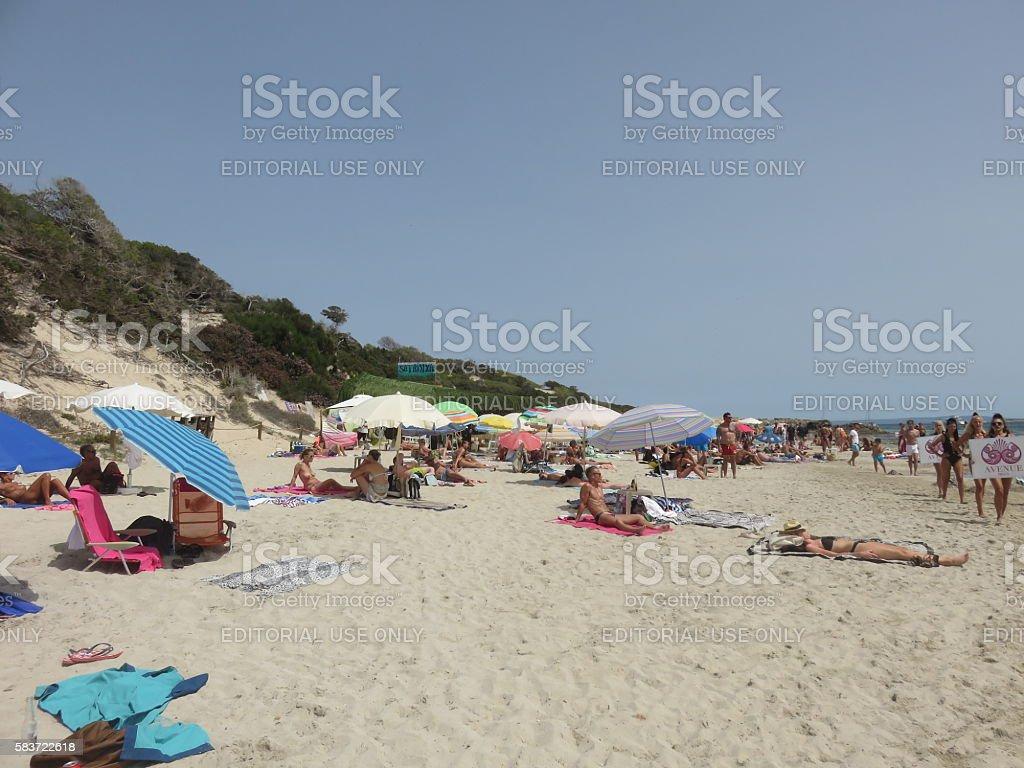 Sa Trinxa Beach Bar Ibiza Spain Foto De Stock Y Más Banco De