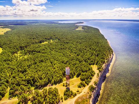 Saarema Island, Estonia: Panga or Mustjala cliff