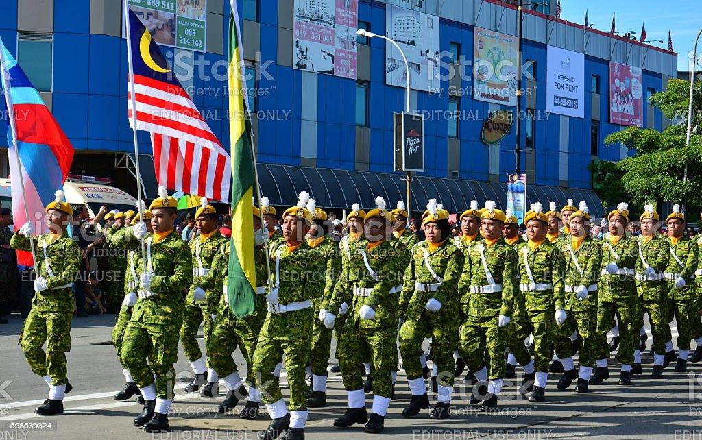 Sabah Borneo Independence Day 2016 celebration photo libre de droits