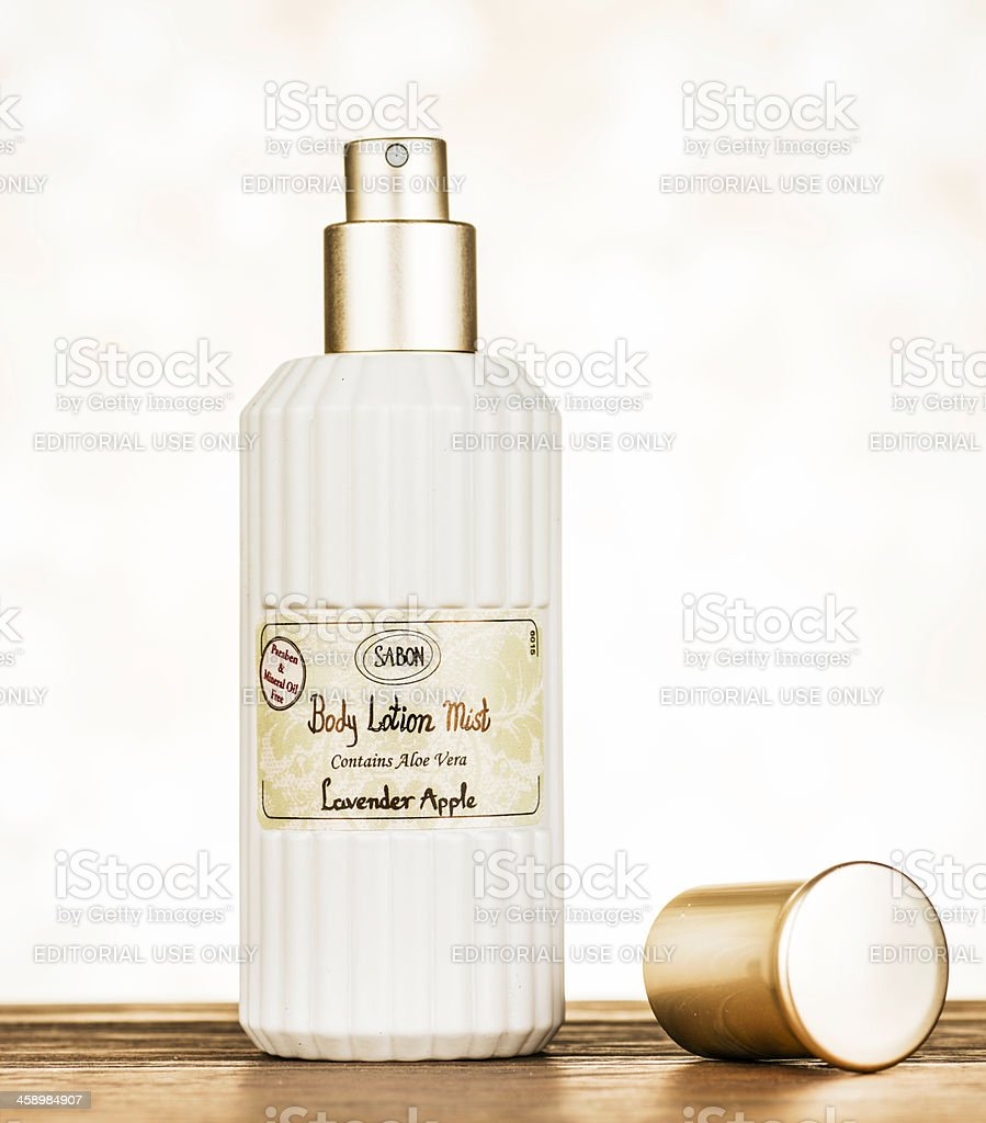 Sabon Body Lotion Mist stock photo