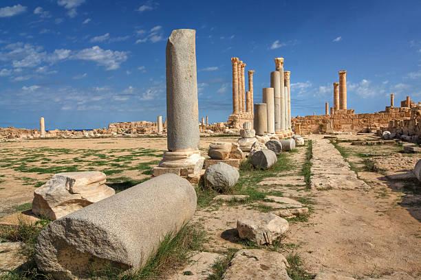 Sabratha - Libya stock photo