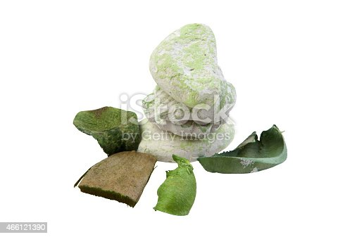 isolated object on white -   small perfumed bag