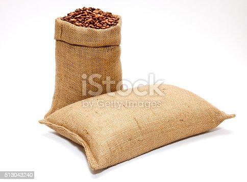 istock Sack of Coffee Beans 513043240