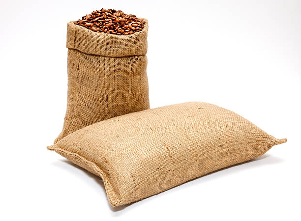 sack of coffee beans - sack stock pictures, royalty-free photos & images