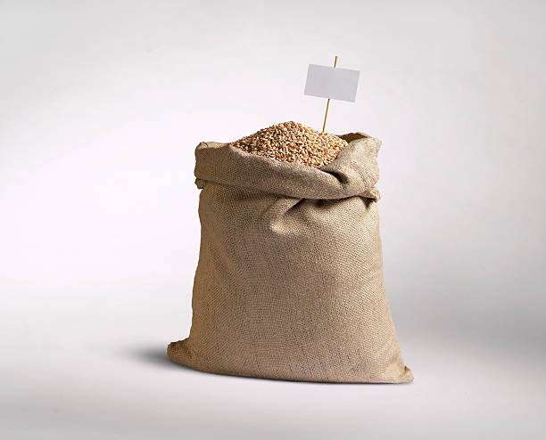 sack of grain - sack stock pictures, royalty-free photos & images