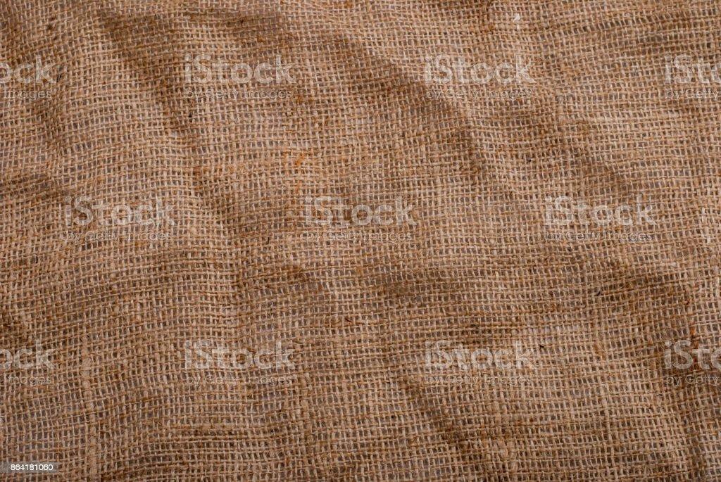 Sackcloth background royalty-free stock photo