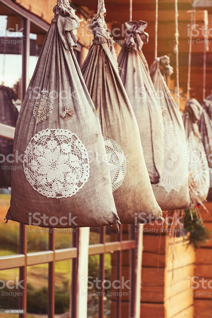 Sacks stock photo