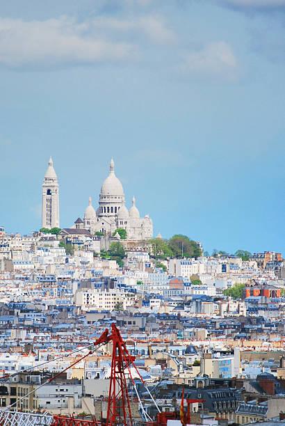 Sacré Cœur de Montmartre stock photo