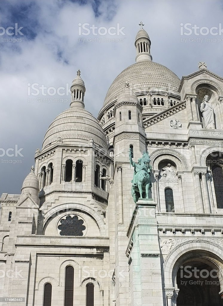 Sacré-Cœur Basilica royalty-free stock photo