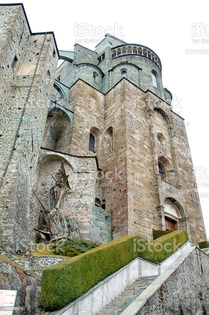 Sacra Di San Michele Avigliana Torino Monastery Entrance Stock Photo ...