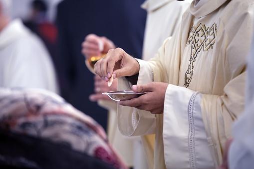 Foto de Sacramento De Comunhão e mais fotos de stock de Catolicismo