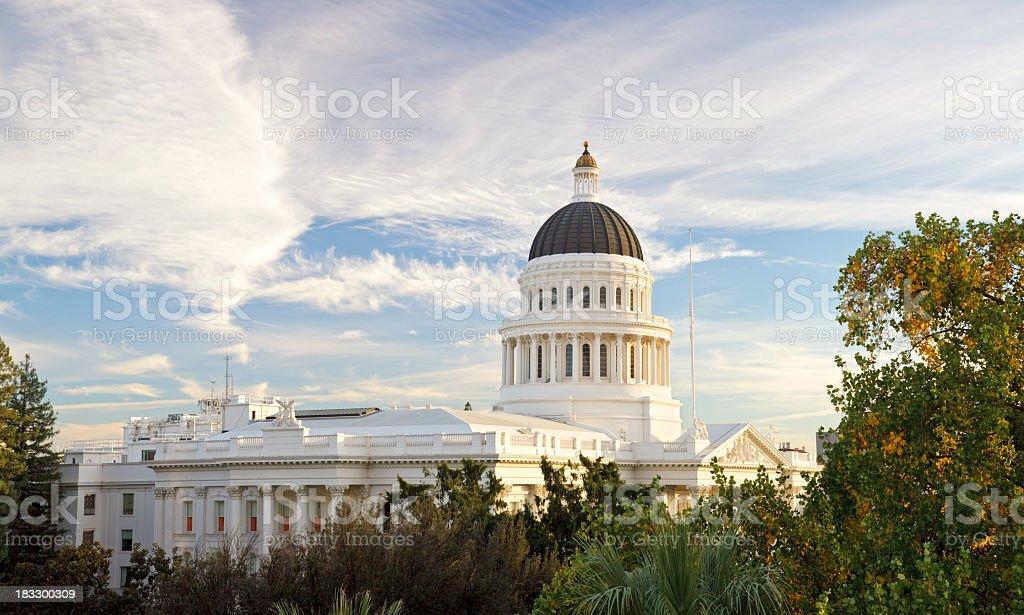 Sacramento, California capitol building stock photo