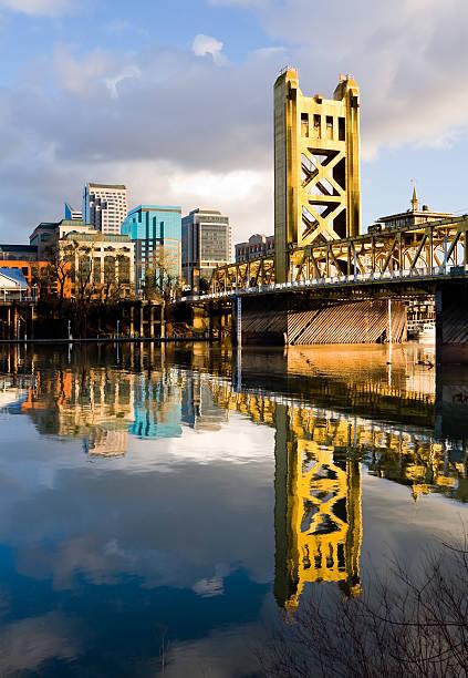 Sacramento California downtown stock photo