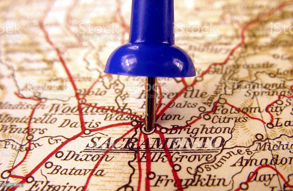 Sacramento, California royalty-free stock photo