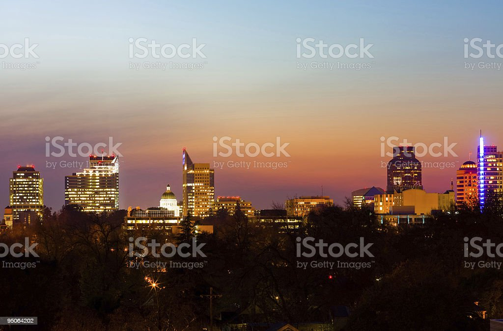 Sacramento California royalty-free stock photo