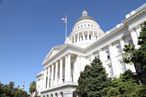 Sacramento Capital Building stock photo