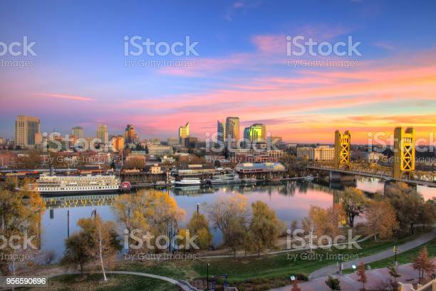 Sacramento City Scape Stock Photo - Download Image Now