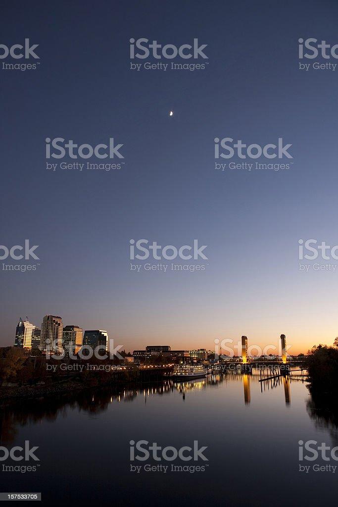 Sacramento downtown stock photo