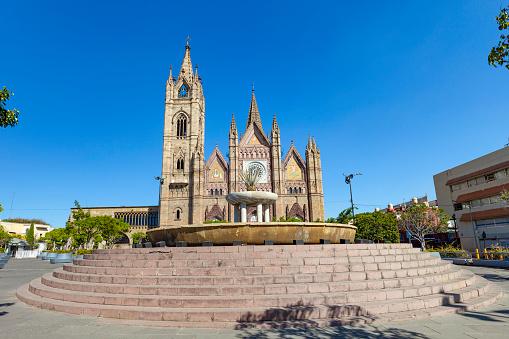 Templo Expiatorio del Santísimo Sacramento in Guadalajara, Jalisco, Mexico.