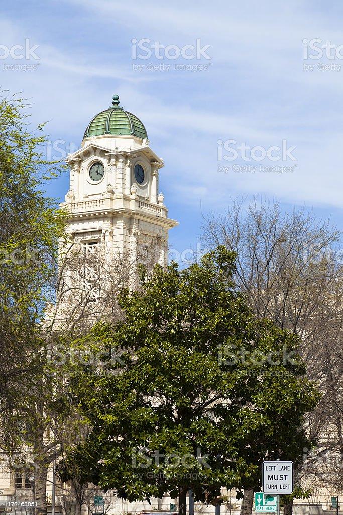 Sacramento Old City Hall royalty-free stock photo