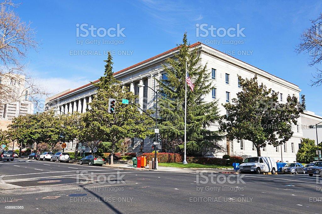 Sacramento Post Office royalty-free stock photo