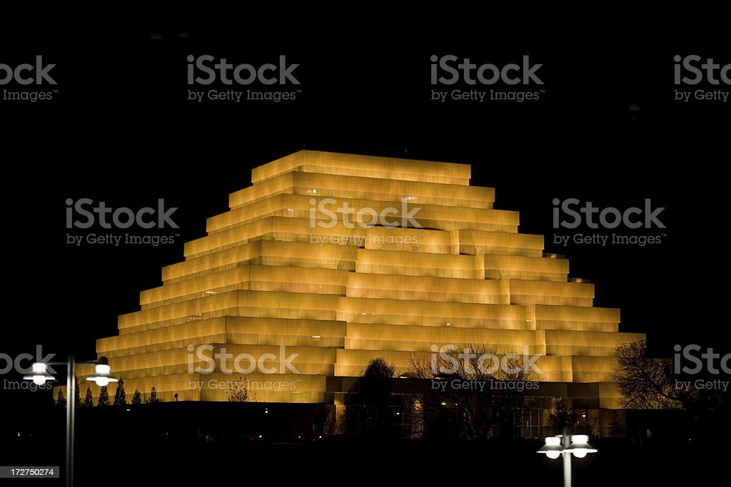 Sacramento Pyramid royalty-free stock photo