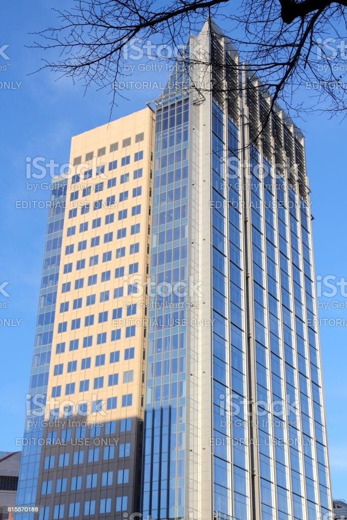 Sacramento skyscraper stock photo