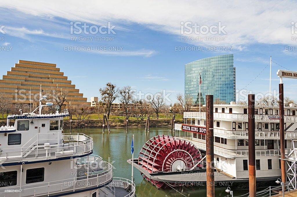 Sacramento Waterfront royalty-free stock photo