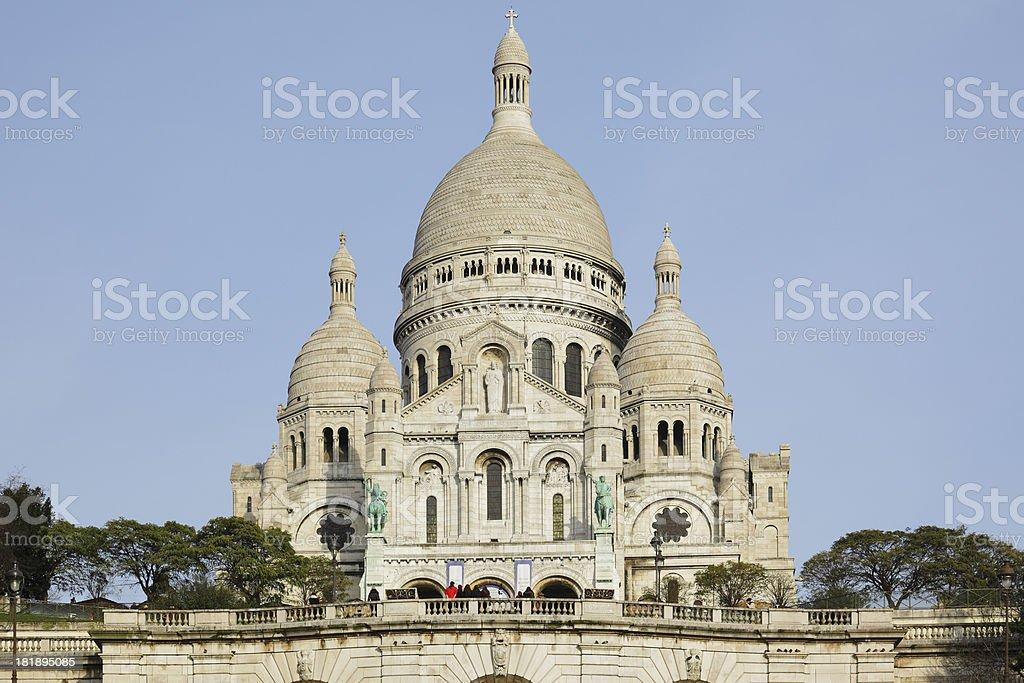 Sacre Coeur Basilica - Paris royalty-free stock photo