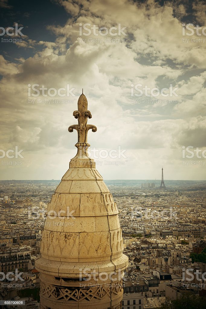 Sacre Coeur Cathedral royalty-free stock photo