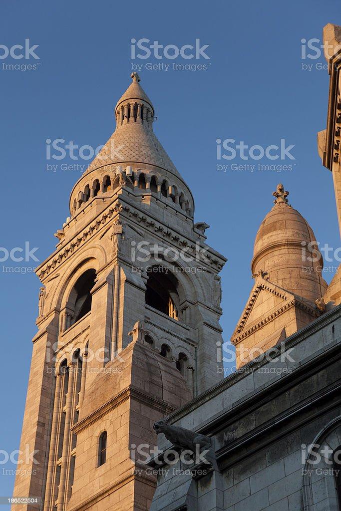 Sacre Coeur, Montmartre, Paris royalty-free stock photo