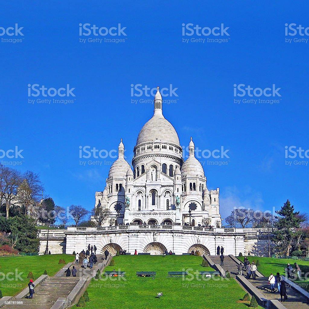 Sacre Cour, Paris stock photo