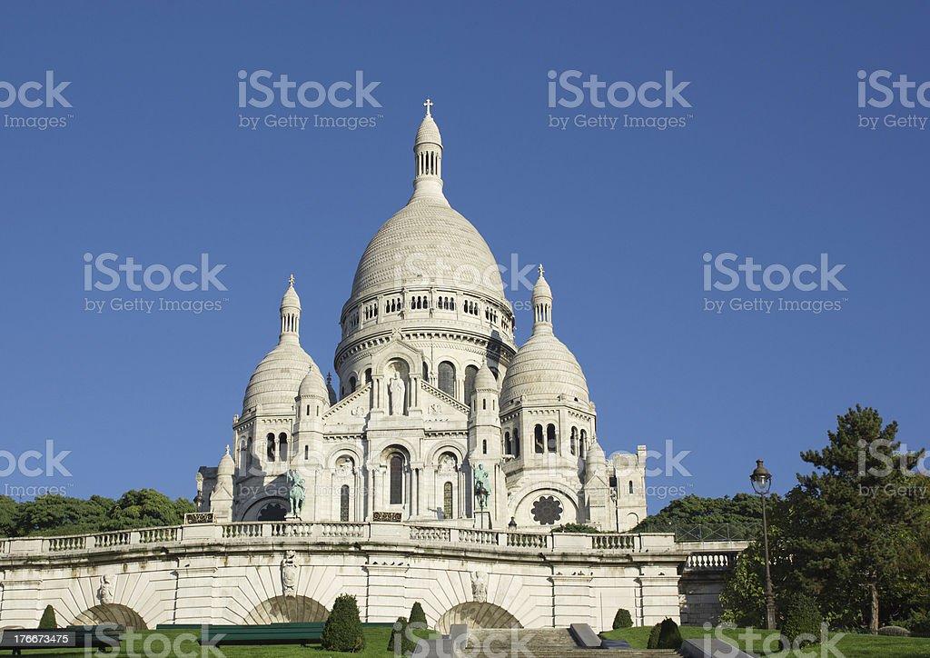 De Sacre Coeur, París, Francia foto de stock libre de derechos