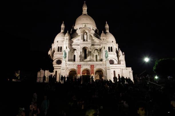 Sacre-Coeur stock photo