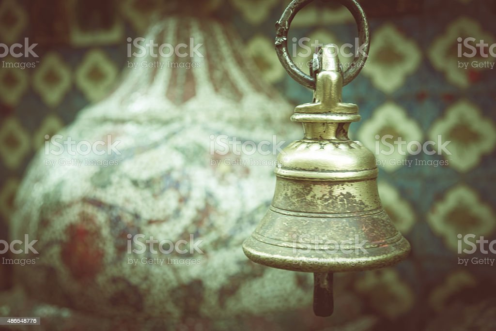 Sacred Bell stock photo