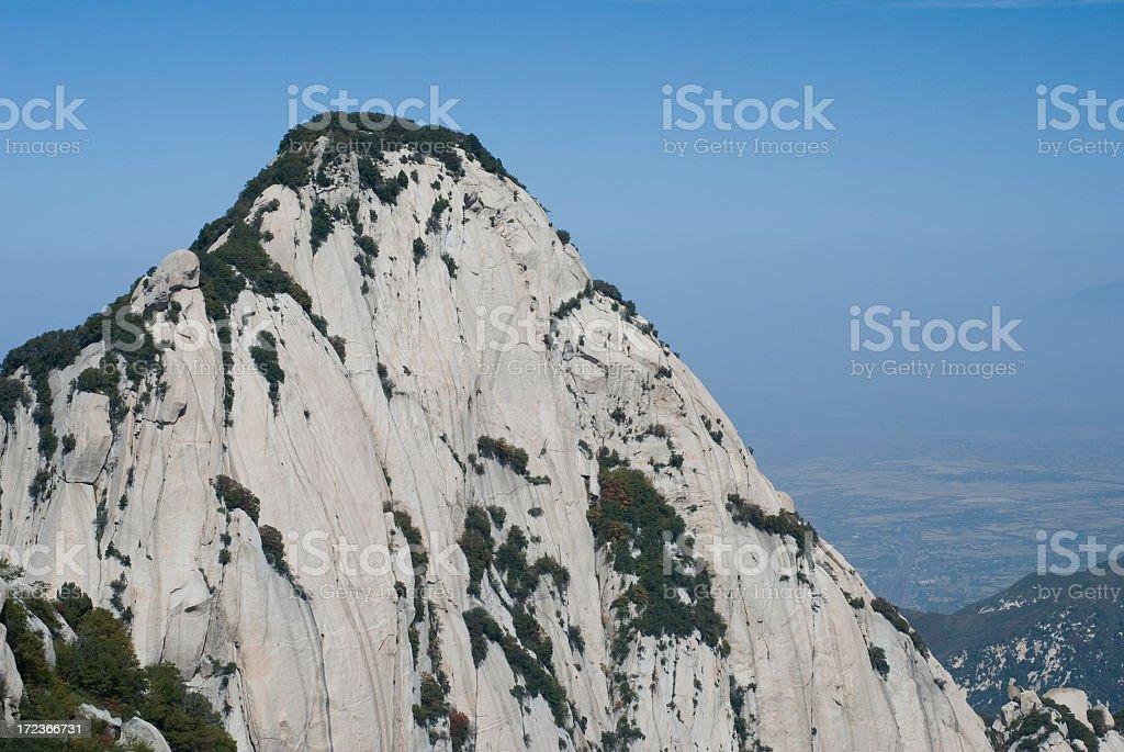 Sacred Chinese Peak royalty-free stock photo