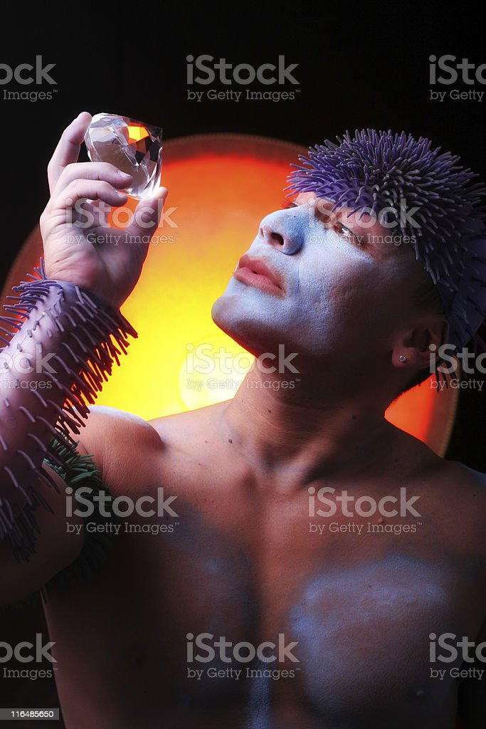 Sacred Gem stock photo